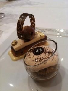 Guanaja Chocolate Iced Crisp, Café Liégeois