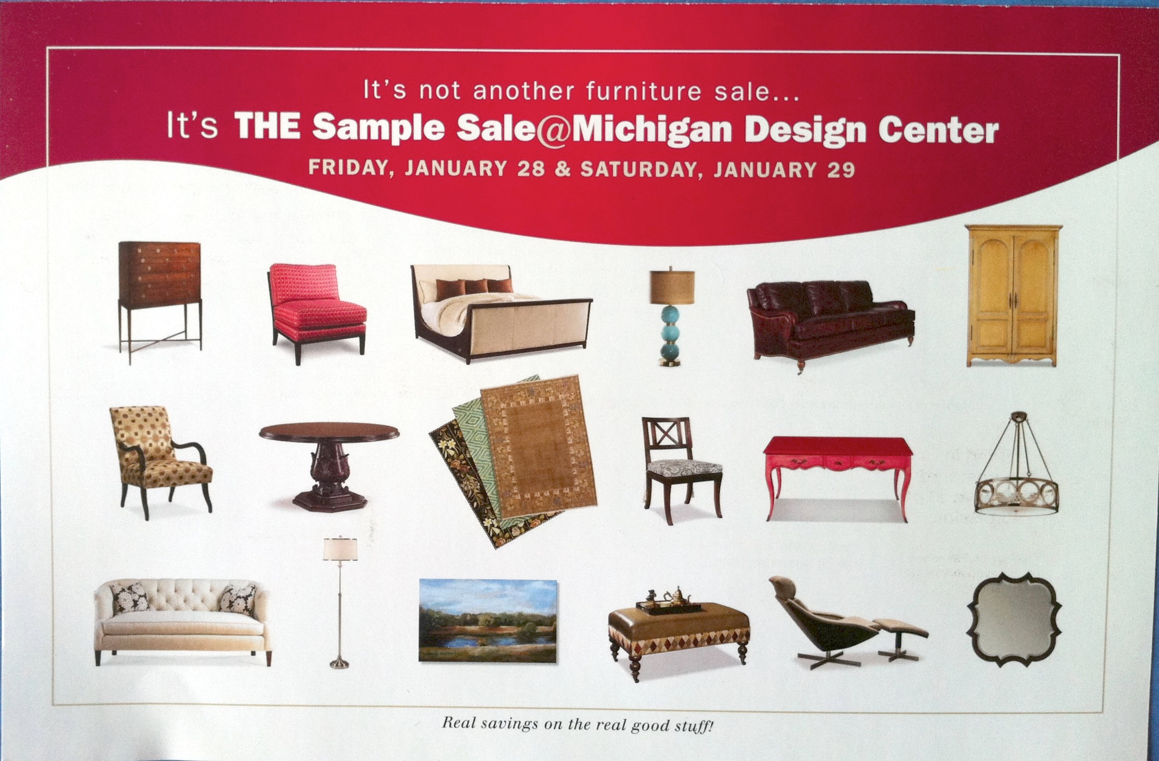 The Michigan Design Center Sample Sale